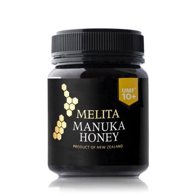 新西兰Melita UMF10+麦卢卡蜂蜜340g黑色