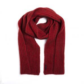 新西兰Merinomink美利奴羊毛混纺女士针织围巾 红色