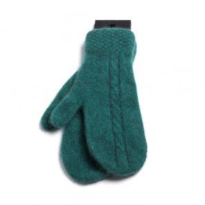 新西兰Merinomink美利奴羊毛混纺手套 绿色