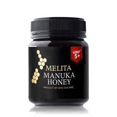 新西兰Melita UMF5+麦卢卡蜂蜜340g黑色