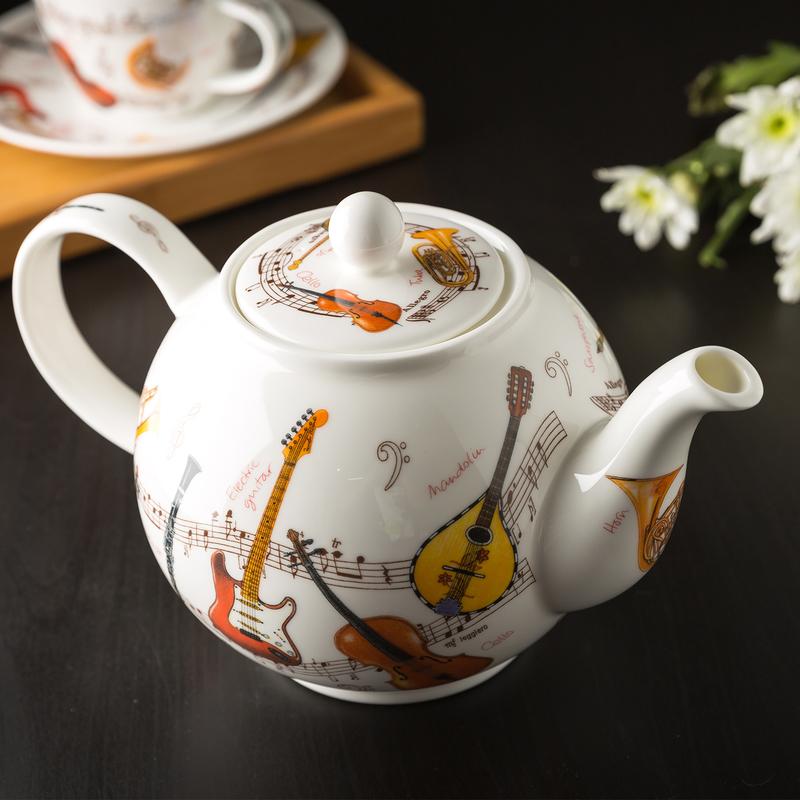 乐器系列茶壶