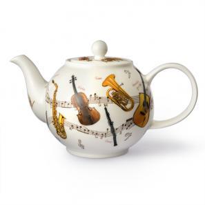 DUNOON 英国丹侬Dunoon骨瓷茶壶水壶茶具/乐器