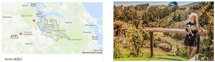 UMF的发现--新西兰地图