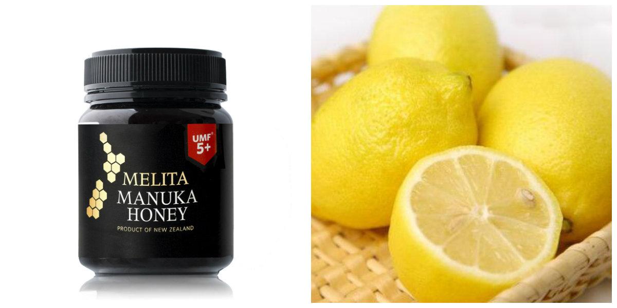 麦卢卡蜂蜜柠檬