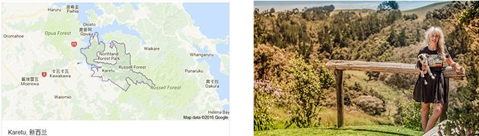 Kare蜂蜜位于新西兰北部地区