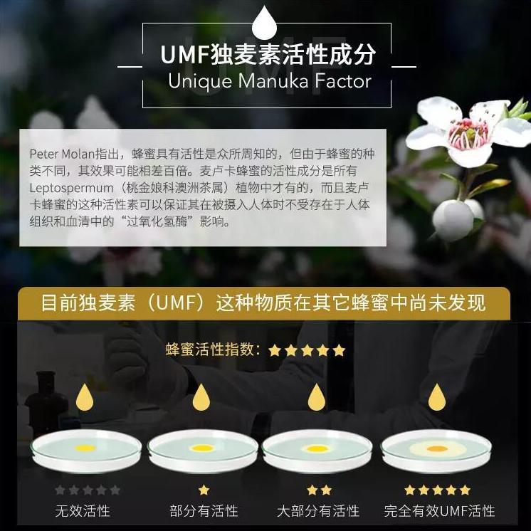 UMF独麦素活性成分