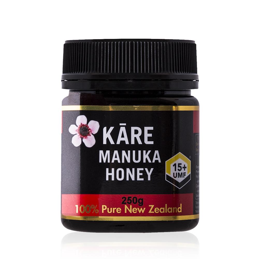 新西兰卡瑞Kare 麦卢卡蜂蜜UMF15+黑色250g