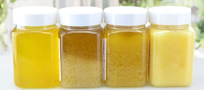 蜂蜜结晶的变化