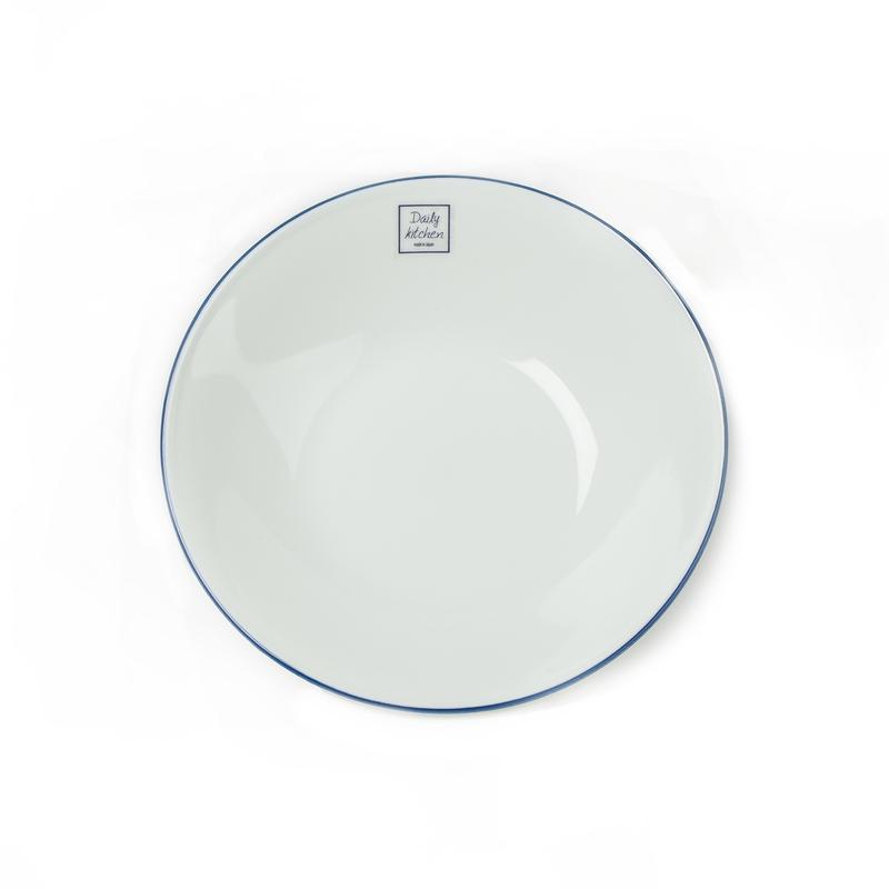 日本原产AITO中西餐盘子美浓烧陶瓷碟L 【Daily系列】白色