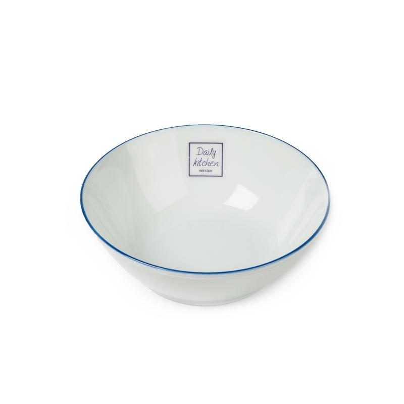 日本原产AITO美浓烧陶瓷碗饭碗汤碗 【Daily系列】白色