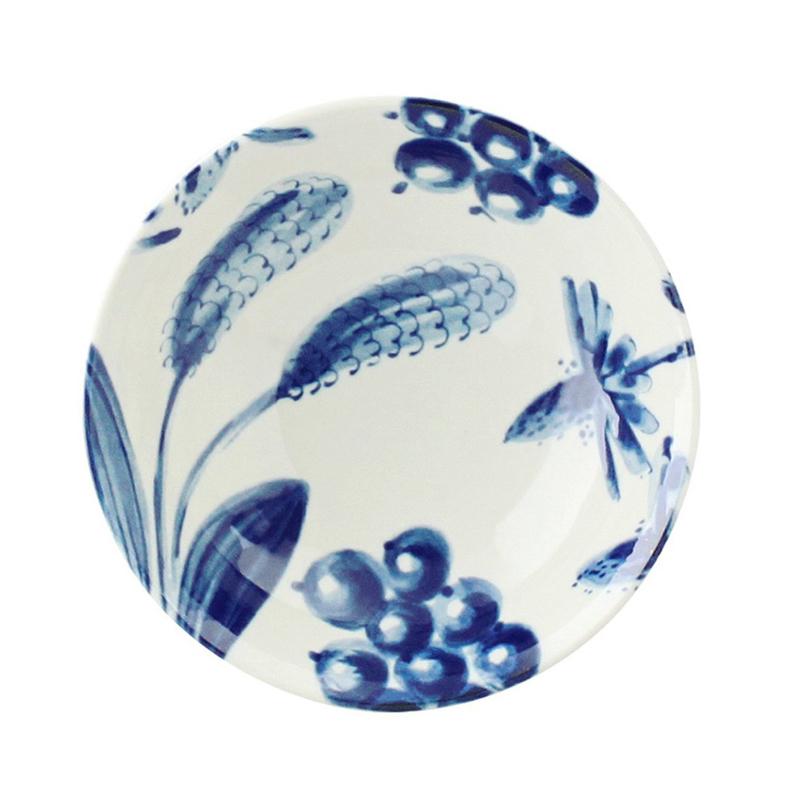日本AITO美浓烧陶瓷碗浅口碗汤面碗 【Botamical系列】薰衣草