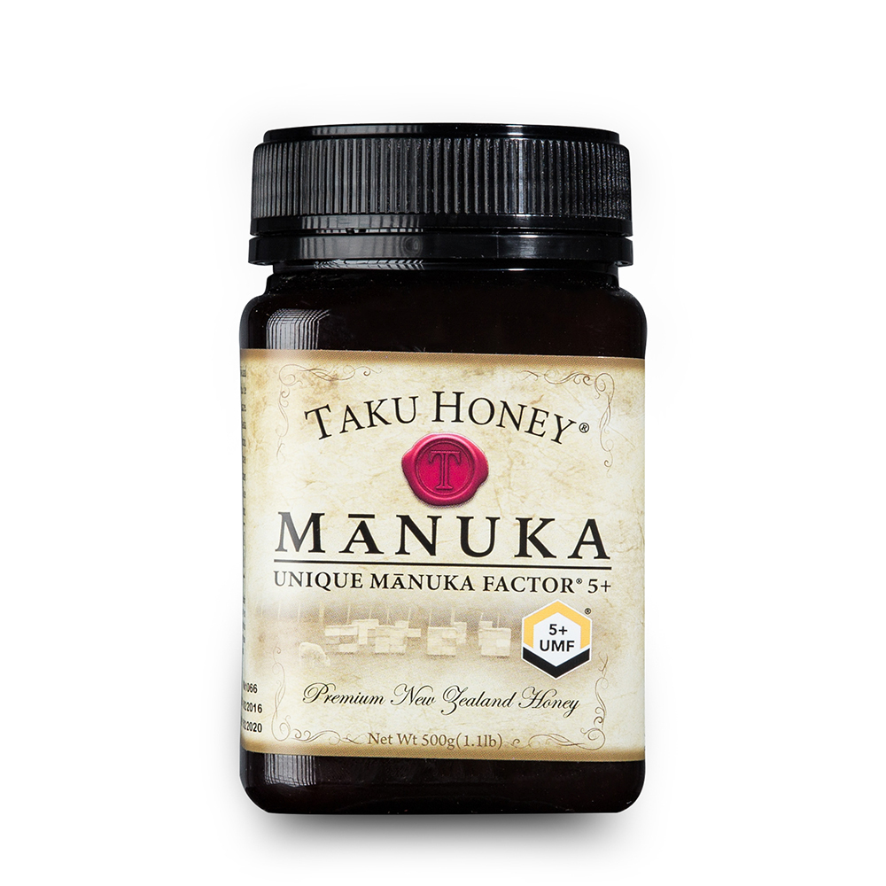 新西兰Takuhoney 塔库麦卢卡蜂蜜UMF5+棕色500g