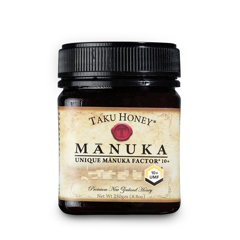 新西兰原产TAKU塔库麦卢卡蜂蜜 UMF10+250g养胃养颜棕色