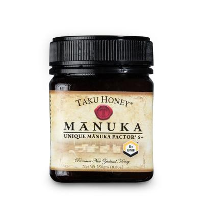 新西兰Takuhoney 塔库麦卢卡蜂蜜UMF5+棕色250g
