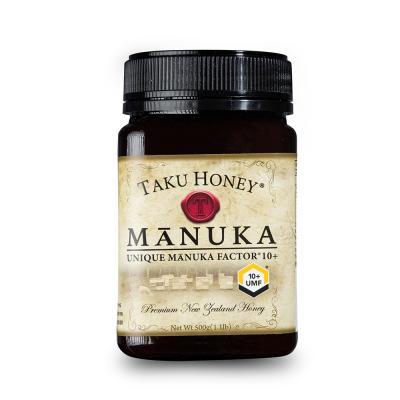 新西兰Takuhoney 塔库麦卢卡蜂蜜UMF10+棕色500g