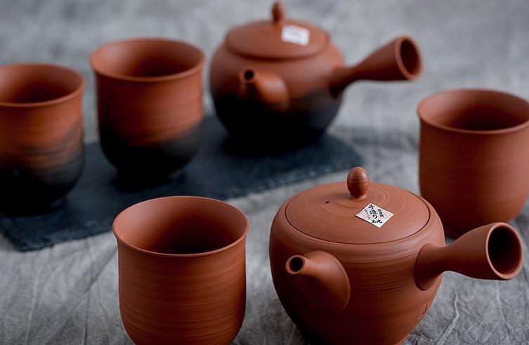 紫砂茶具一套图片