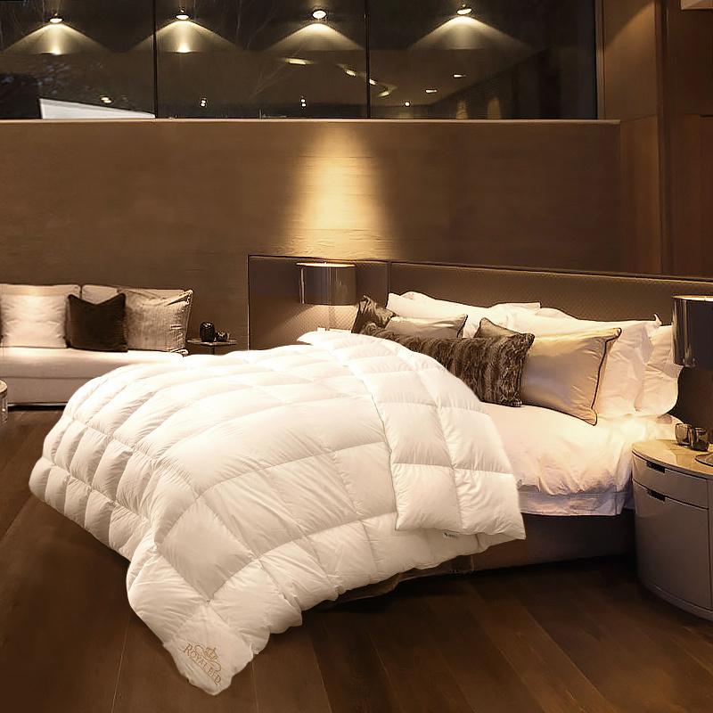 德国原产OBB鹅绒被 RoyalBed西伯利亚97.88%雪鹅绒被国王系列