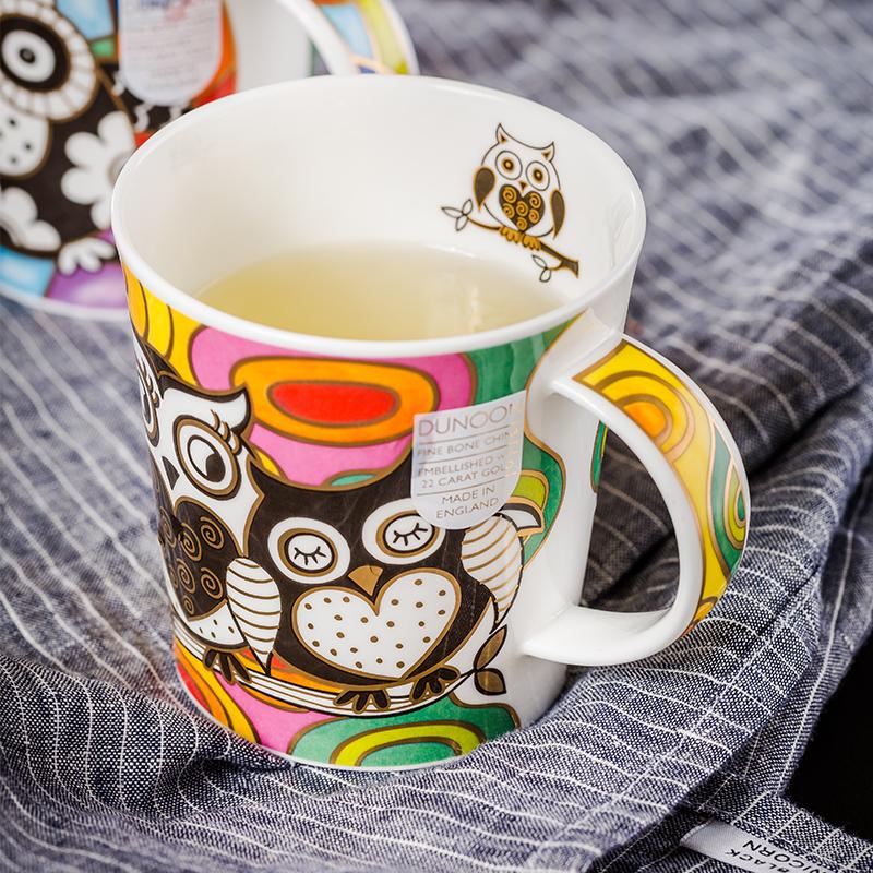 DUNOON 英国丹侬DUNOON骨瓷杯马克杯猫头鹰系列