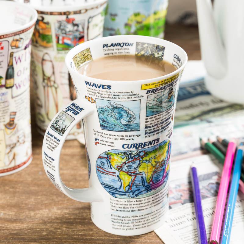 DUNOON 英国丹侬DUNOON骨瓷杯马克杯海洋世界