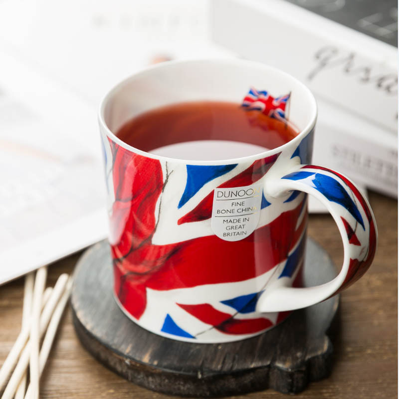 DUNOON 英国丹侬DUNOON骨瓷杯马克杯英国国旗