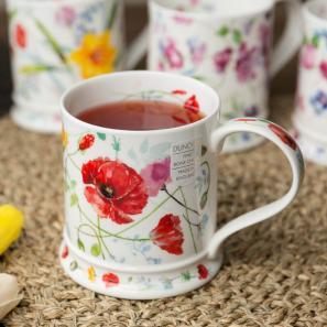 DUNOON 丹侬DUNOON骨瓷马克杯花园系列罂粟花