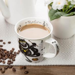 DUNOON 英国丹侬DUNOON骨瓷马克杯水杯猫咪系列
