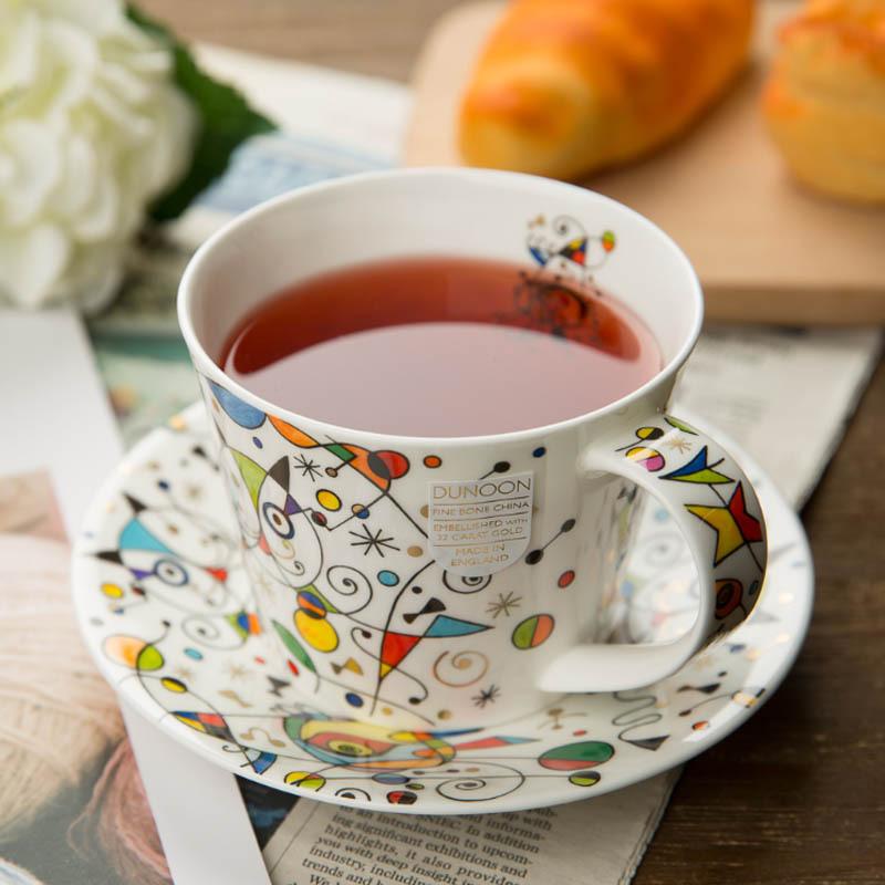 DUNOON 英国丹侬DUNOON骨瓷茶杯咖啡杯时尚小猫