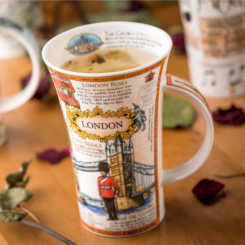 DUNOON 英国丹侬Dunoon骨瓷杯马克杯异国风光之文化