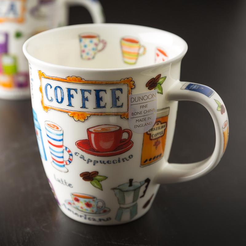 DUNOON 英国丹侬Dunoon骨瓷杯马克杯咖啡coffee