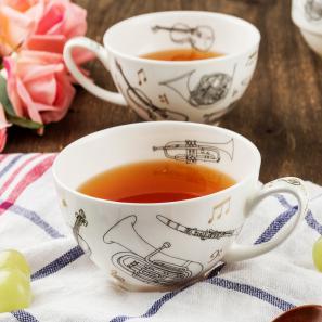 DUNOON 英国丹侬Dunoon骨瓷茶杯咖啡杯茶具乐器Encore