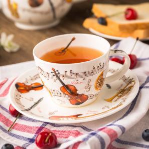 DUNOON 英国丹侬Dunoon骨瓷茶杯咖啡杯茶具乐器