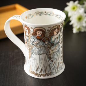 DUNOON 英国丹侬Dunoon骨瓷杯马克杯天使