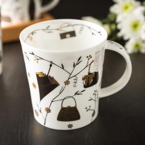 DUNOON 英国DUNOON丹侬骨瓷杯马克杯时尚手提包