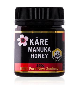 新西兰卡瑞蜂蜜15+瓶装照