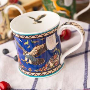 DUNOON 英国DUNOON丹侬骨瓷杯马克杯阿拉伯猎鹰