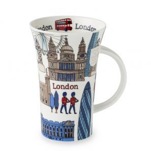 DUNOON 英国丹侬Dunoon骨瓷杯马克杯异国风光之建筑