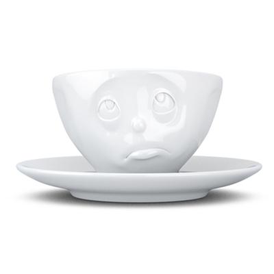 德国原产FIFTYEIGHT TASSEN,陶瓷卡通碗咖啡碗咖啡杯200ml委屈