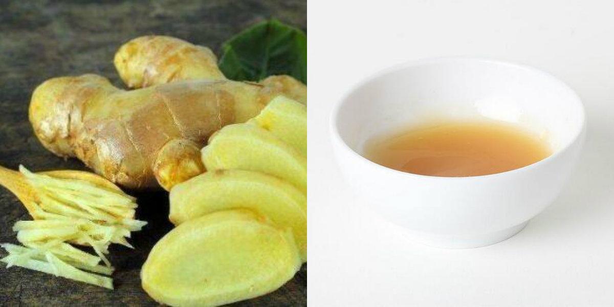 生姜蜂蜜水的制作方法