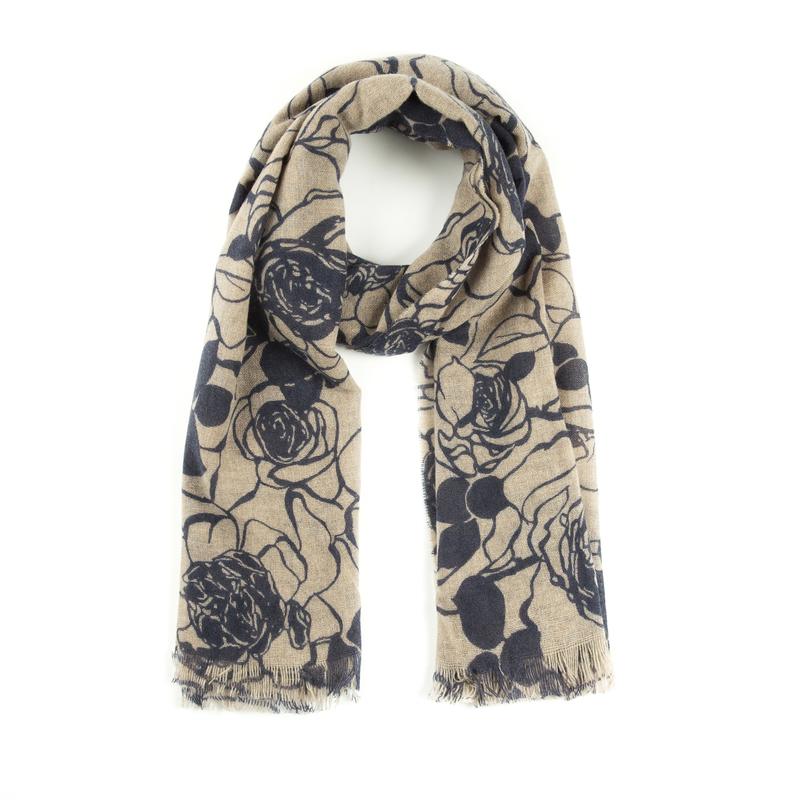 意大利原产MA.AL.BI.羊绒围巾女士围巾