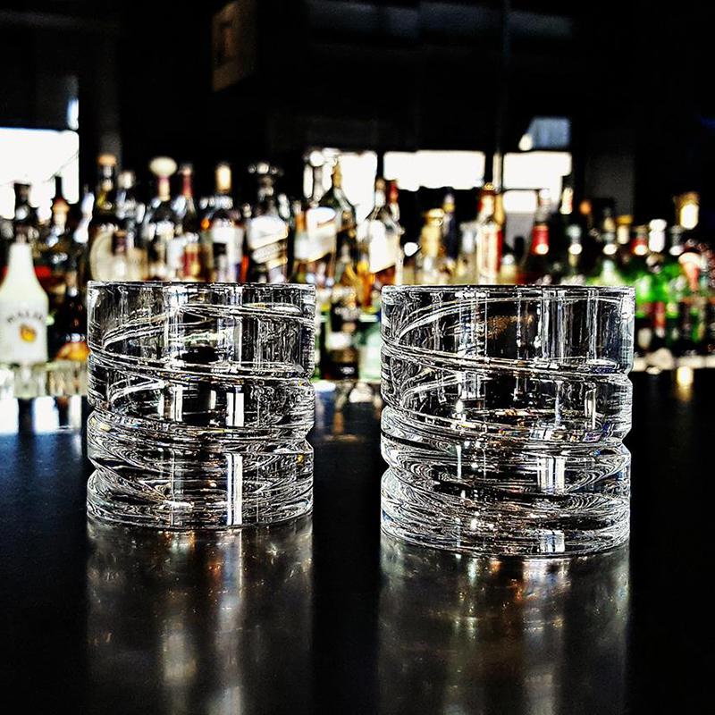 德国原产SHTOX 玻璃炫风杯旋转杯酒杯No.001(2个装)