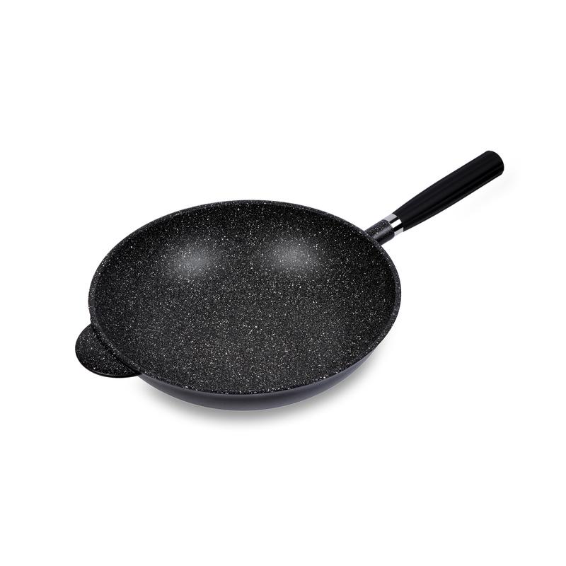 意大利原产Pentolpress混合矿石涂层 不粘锅燃气用炒菜锅