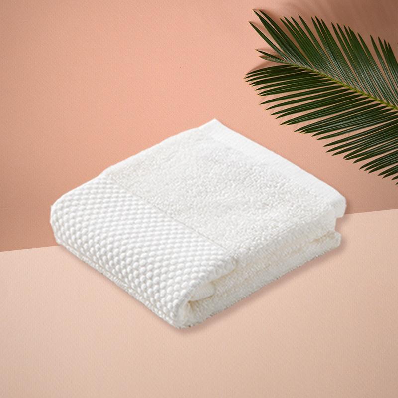 日本ORIM毛巾超柔棉质擦手巾宝宝洗脸巾 【Plumage系列】白色