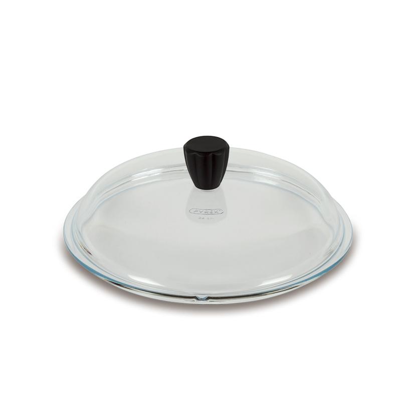 意大利原产PENTOLPRESS高硼硅玻璃锅盖 树脂把手24cm透明