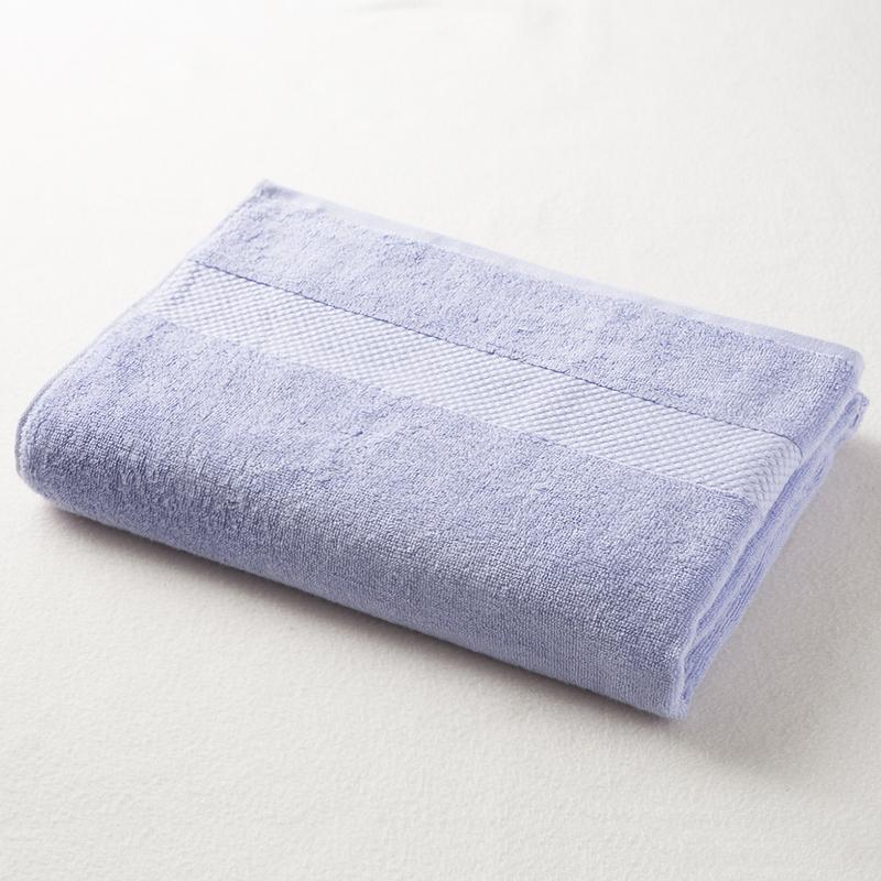日本原产ORIM今治毛巾超柔棉质加宽浴巾 【Mayu系列】紫色