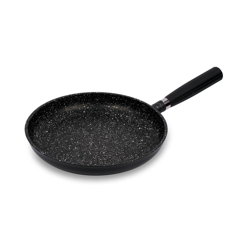 意大利原产Pentolpress混合矿石涂层 电磁燃气用平底锅黑色