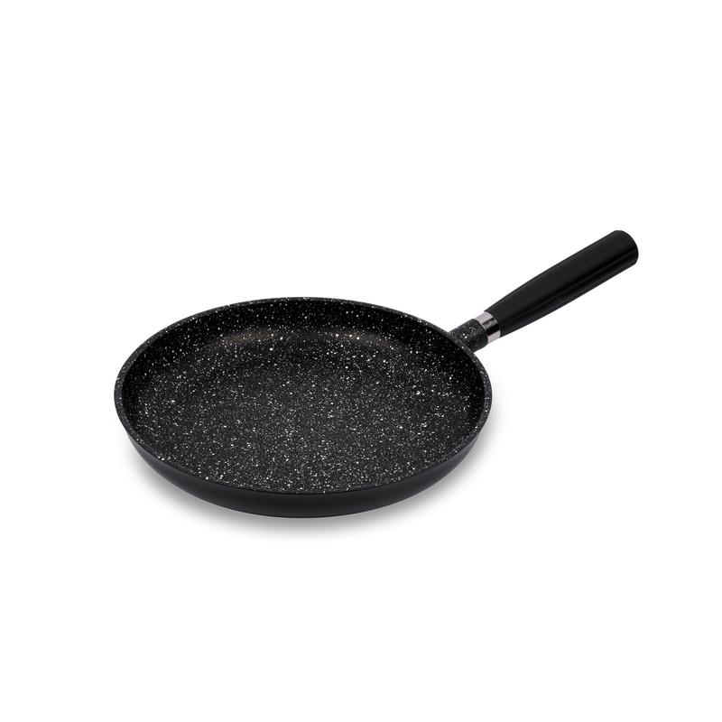 意大利原产Pentolpress混合矿石涂层 不粘平底锅燃气用黑色