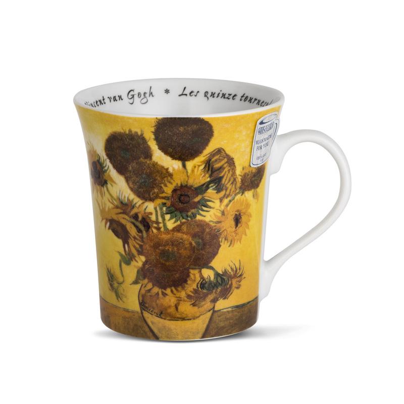 德国原产KOENITZ酷尼子 陶瓷水杯茶杯马克杯陶瓷杯子梵高之花