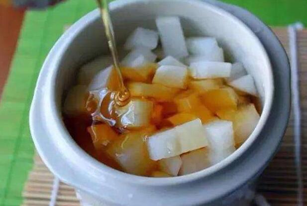 蜂蜜萝卜水