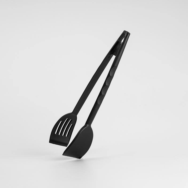 意大利原产Pentolpress厨用食物夹 厨房夹子钳子黑色