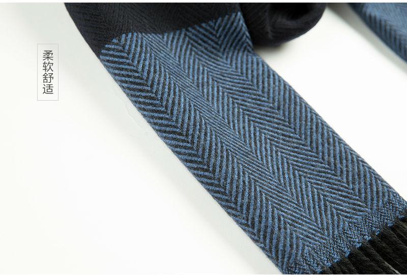 意大利MA.AL.BI.羊毛围巾质地柔软